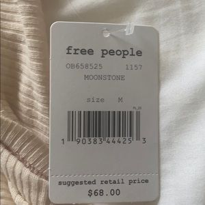 Free the people ribbed tunic